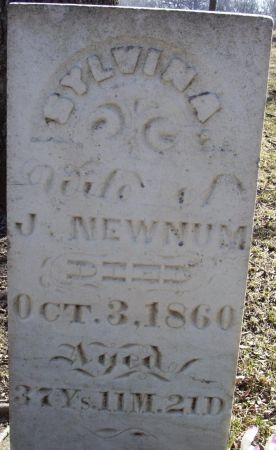 NEWNUM, SYLVINA - Story County, Iowa | SYLVINA NEWNUM