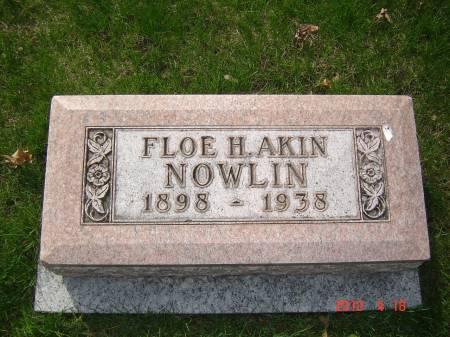 NOWLIN, FLOE H. - Story County, Iowa | FLOE H. NOWLIN