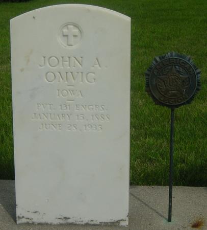 OMVIG, JOHN A. - Story County, Iowa | JOHN A. OMVIG