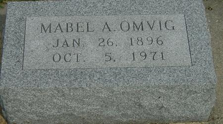 OMVIG, MABEL - Story County, Iowa | MABEL OMVIG