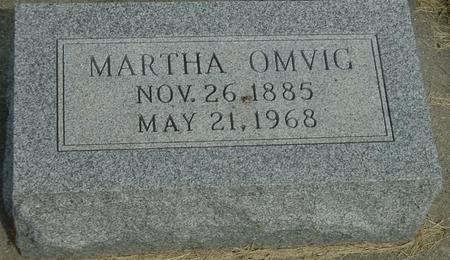 OMVIG, MARTHA - Story County, Iowa | MARTHA OMVIG