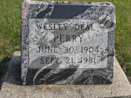 PERRY, WESLEY DEAL - Story County, Iowa | WESLEY DEAL PERRY