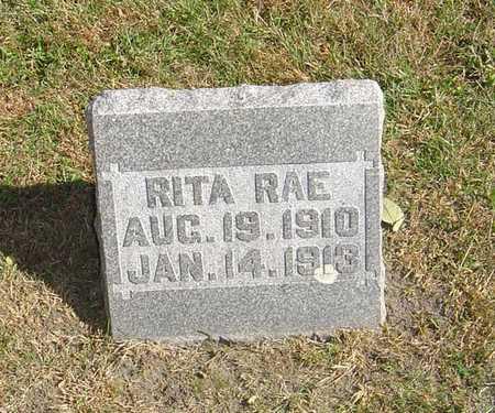 RAE, RITA - Story County, Iowa | RITA RAE