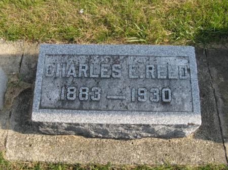 REED, CHARLES E - Story County, Iowa   CHARLES E REED