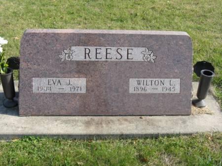 REESE, WILTON L - Story County, Iowa | WILTON L REESE