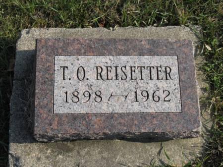 REISETTER, T O - Story County, Iowa | T O REISETTER