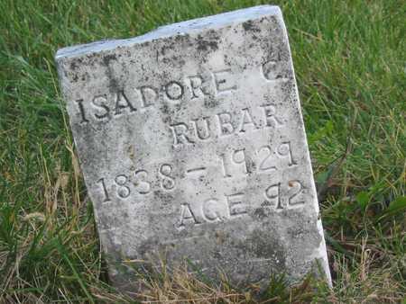 RUBAR, ISADORE C - Story County, Iowa   ISADORE C RUBAR