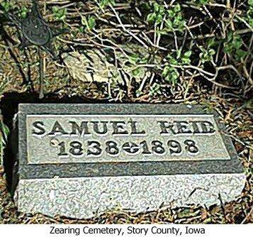 REID, SAMUEL - Story County, Iowa   SAMUEL REID