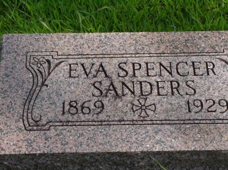 SANDERS, EVE BELL (SPENCER) - Story County, Iowa | EVE BELL (SPENCER) SANDERS