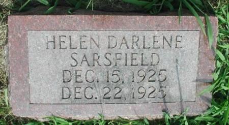SARSFIELD, HELEN DARLENE - Story County, Iowa | HELEN DARLENE SARSFIELD