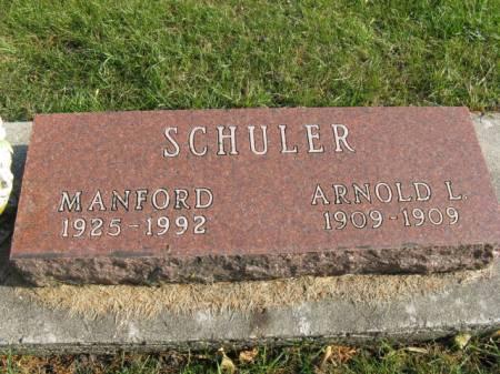 SCHULER, MANFORD - Story County, Iowa | MANFORD SCHULER