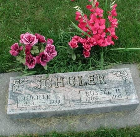 SCHULER, RUSSEL H. & LUCILLE I (TROUTNER) - Story County, Iowa | RUSSEL H. & LUCILLE I (TROUTNER) SCHULER
