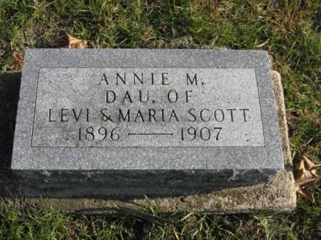 SCOTT, ANNIE M - Story County, Iowa | ANNIE M SCOTT