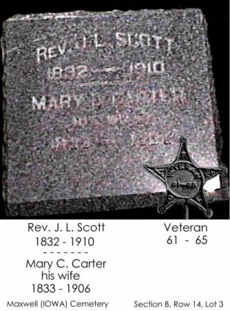 CARTER SCOTT, MARY B. - Story County, Iowa | MARY B. CARTER SCOTT