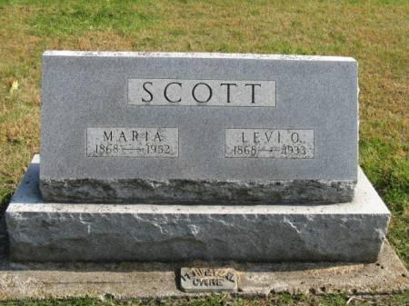 SCOTT, MARIA - Story County, Iowa   MARIA SCOTT