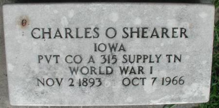 SHEARER, CHARLES ORION - Story County, Iowa | CHARLES ORION SHEARER