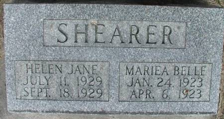 SHEARER, MARIEA - Story County, Iowa | MARIEA SHEARER