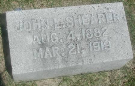 SHEARER, JOHN L - Story County, Iowa | JOHN L SHEARER