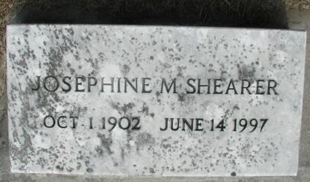 SHEARER, JOSEPHINE M. - Story County, Iowa | JOSEPHINE M. SHEARER