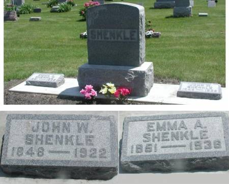 RICHMOND SHENKLE, EMMA AMARION - Story County, Iowa | EMMA AMARION RICHMOND SHENKLE
