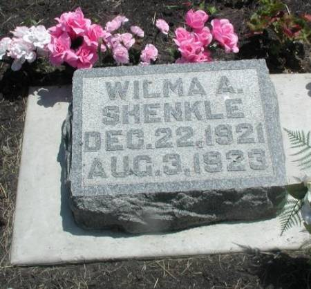 SHENKLE, WILMA A. - Story County, Iowa | WILMA A. SHENKLE