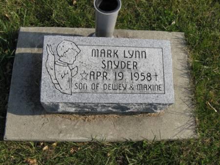 SNYDER, MARK LYNN - Story County, Iowa | MARK LYNN SNYDER