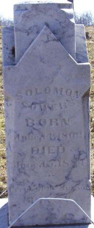 SOWERS, SOLOMON - Story County, Iowa | SOLOMON SOWERS