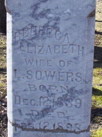 SOWERS, REBECCA ELIZABETH - Story County, Iowa | REBECCA ELIZABETH SOWERS