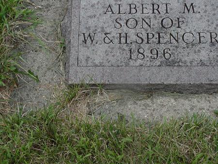 SPENCER, ALBERT - Story County, Iowa | ALBERT SPENCER