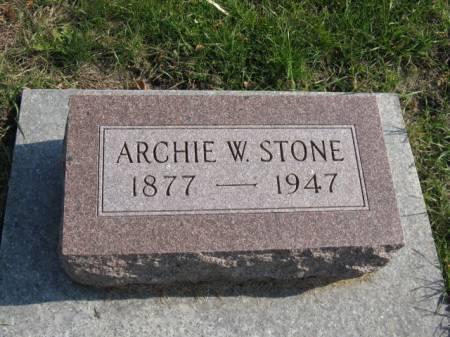STONE, ARCHIE W - Story County, Iowa   ARCHIE W STONE