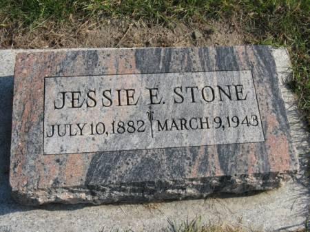 STONE, JESSIE E - Story County, Iowa | JESSIE E STONE