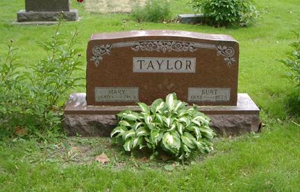 HOURIGAN TAYLOR, MARY JANE - Story County, Iowa | MARY JANE HOURIGAN TAYLOR
