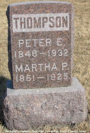 THOMPSON, PETER E. - Story County, Iowa | PETER E. THOMPSON