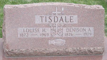 TISDALE, LOUISE HELENE - Story County, Iowa   LOUISE HELENE TISDALE