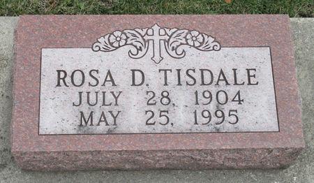 TISDALE, ROSA D. - Story County, Iowa | ROSA D. TISDALE