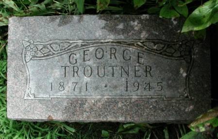 TROUTNER, GEORGE - Story County, Iowa | GEORGE TROUTNER