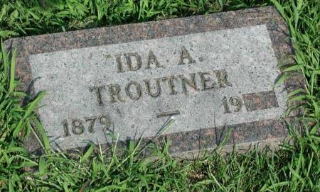 TROUTNER, IDA A. - Story County, Iowa | IDA A. TROUTNER
