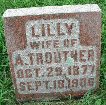 TROUTNER, LILLY - Story County, Iowa | LILLY TROUTNER