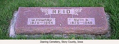 REID, W. HOWARD AND RUTH B. - Story County, Iowa | W. HOWARD AND RUTH B. REID