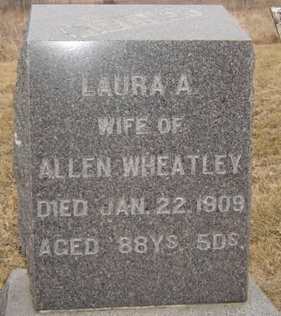 WHEATLEY, LAURA A. - Story County, Iowa   LAURA A. WHEATLEY