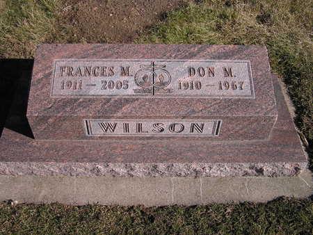 WILSON, DON MURRELL - Story County, Iowa | DON MURRELL WILSON