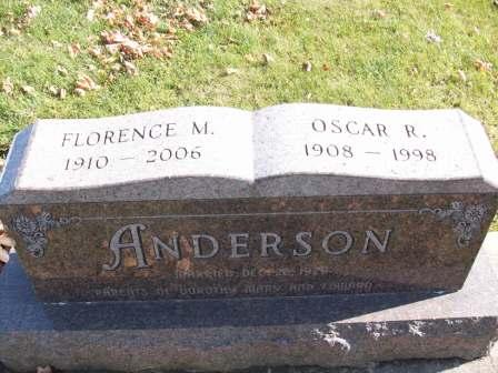ANDERSON, OSCAR - Tama County, Iowa | OSCAR ANDERSON