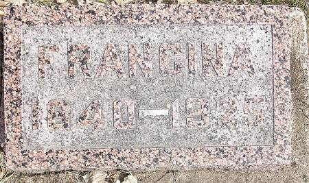 DOUGLAS BAILEY, FRANCINA - Tama County, Iowa | FRANCINA DOUGLAS BAILEY