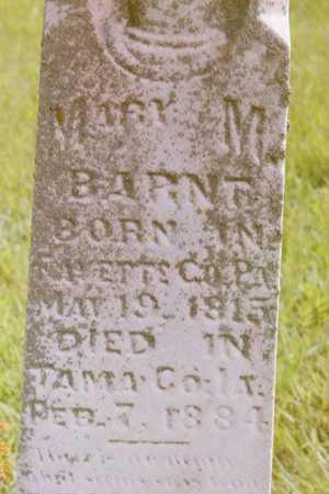 BARNT, MARY - Tama County, Iowa | MARY BARNT