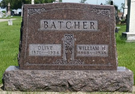 BATCHER, OLIVE - Tama County, Iowa | OLIVE BATCHER