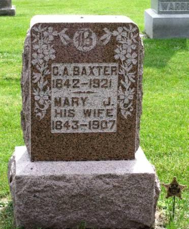 BAXTER, MARY J. - Tama County, Iowa | MARY J. BAXTER
