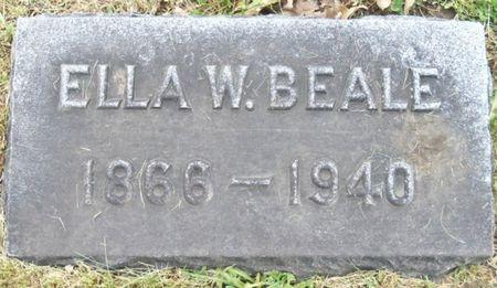 BEALE, ELLA - Tama County, Iowa | ELLA BEALE