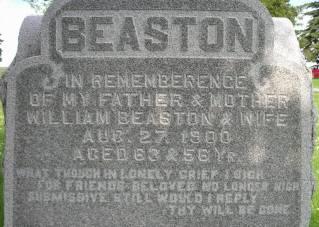 BEASTON, MOTHER - Tama County, Iowa | MOTHER BEASTON