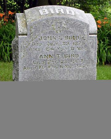 BIRD, JOHN L. - Tama County, Iowa | JOHN L. BIRD