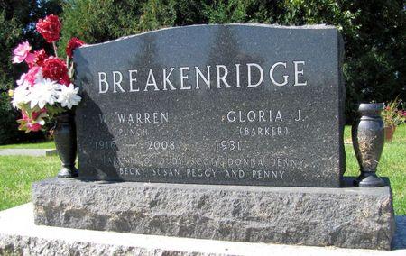 BREAKENRIDGE, W. WARREN - Tama County, Iowa | W. WARREN BREAKENRIDGE